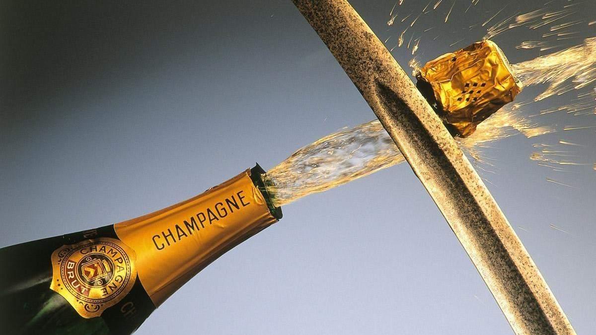 Сабраж: гусарський спосіб відкривати вино - інструкція, як правильно