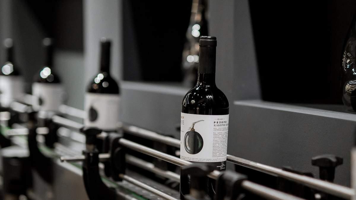 Украинские вина SHABO можно заказать в ресторанах Европы