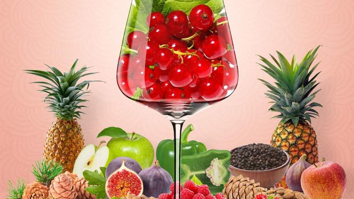 Красная смородина в виноградном вине: откуда она там