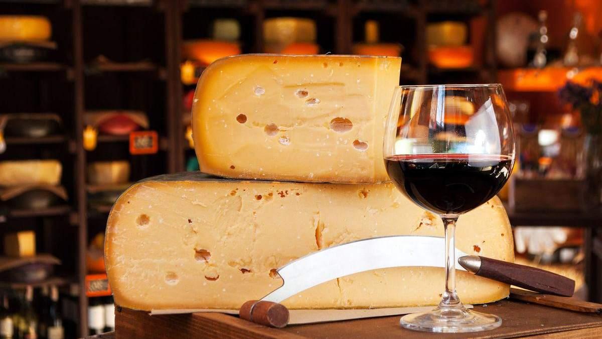 Як правильно поєднувати вино та сир: поради, комбінації