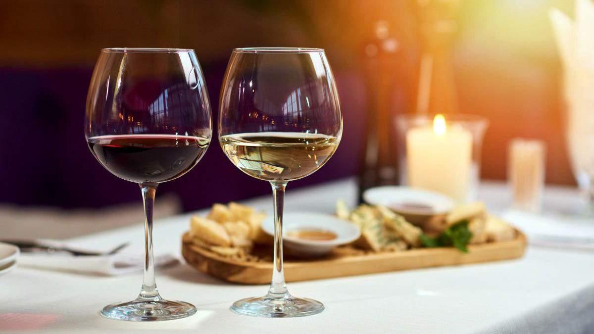 З чим можна поєднувати червоні та білі вина