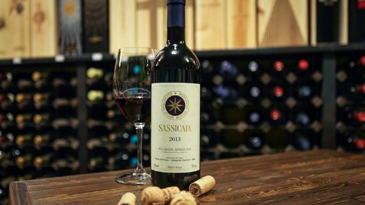В Италии изъяли свыше 6000 бутылок ненастоящего Sassicaia