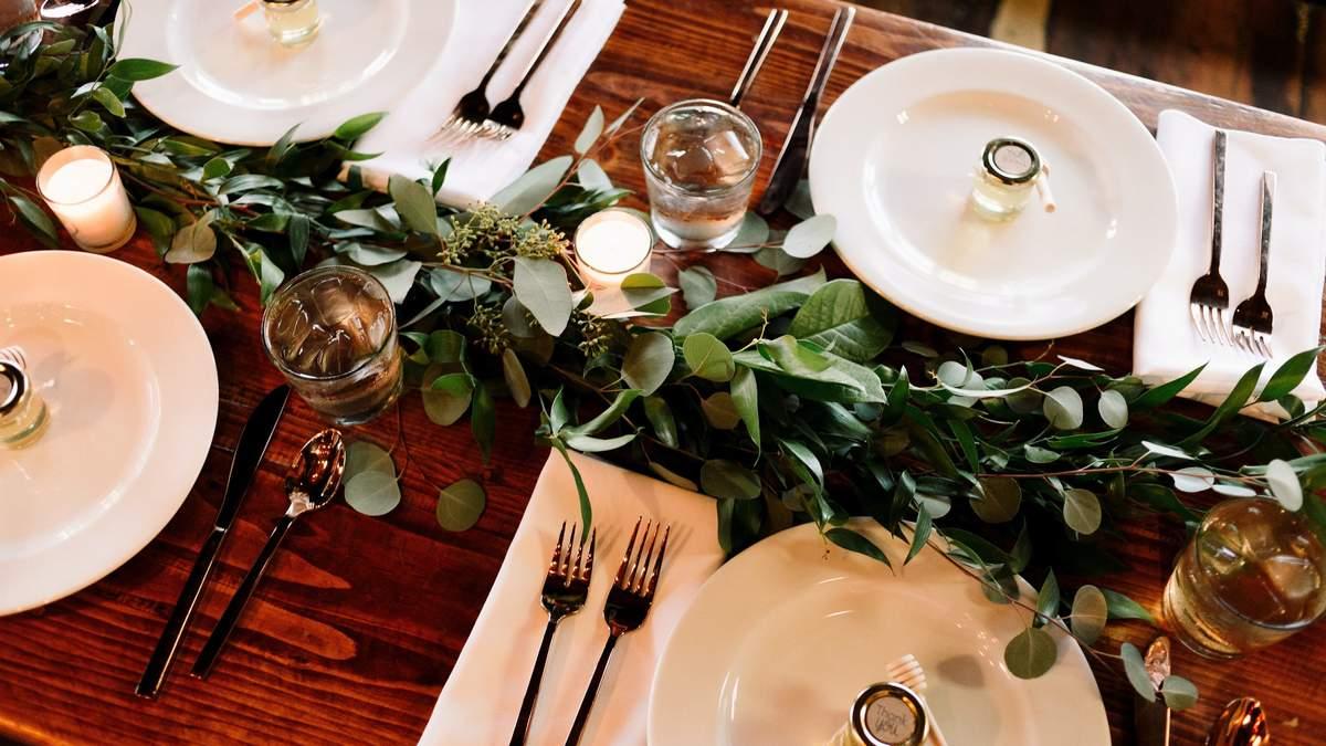 Створіть особливо атмосферу за столом: розкриваємо секрети правильного сервірування