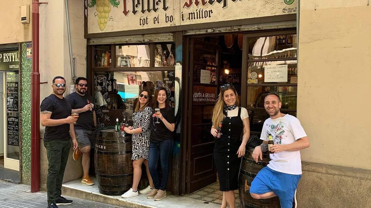Одна из традиционных бодег в Испании