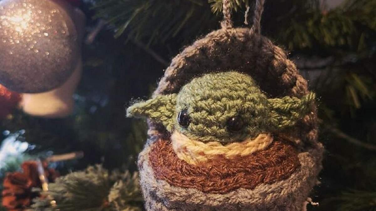 Бейбі Йода та коронавірус: 25 креативних та дотепних новорічних декорацій - фото