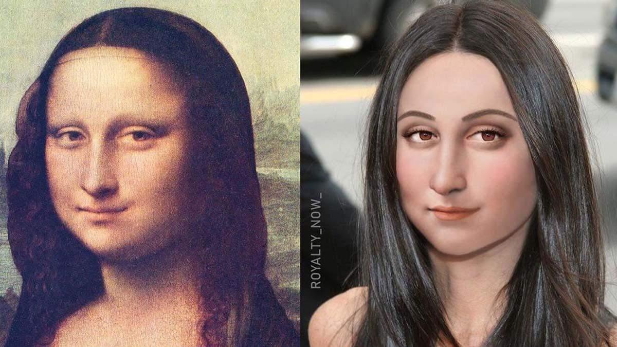 Мона Ліза, Клеопатра, Нефертіті: як би вони виглядали сьогодні – дивовижні фото
