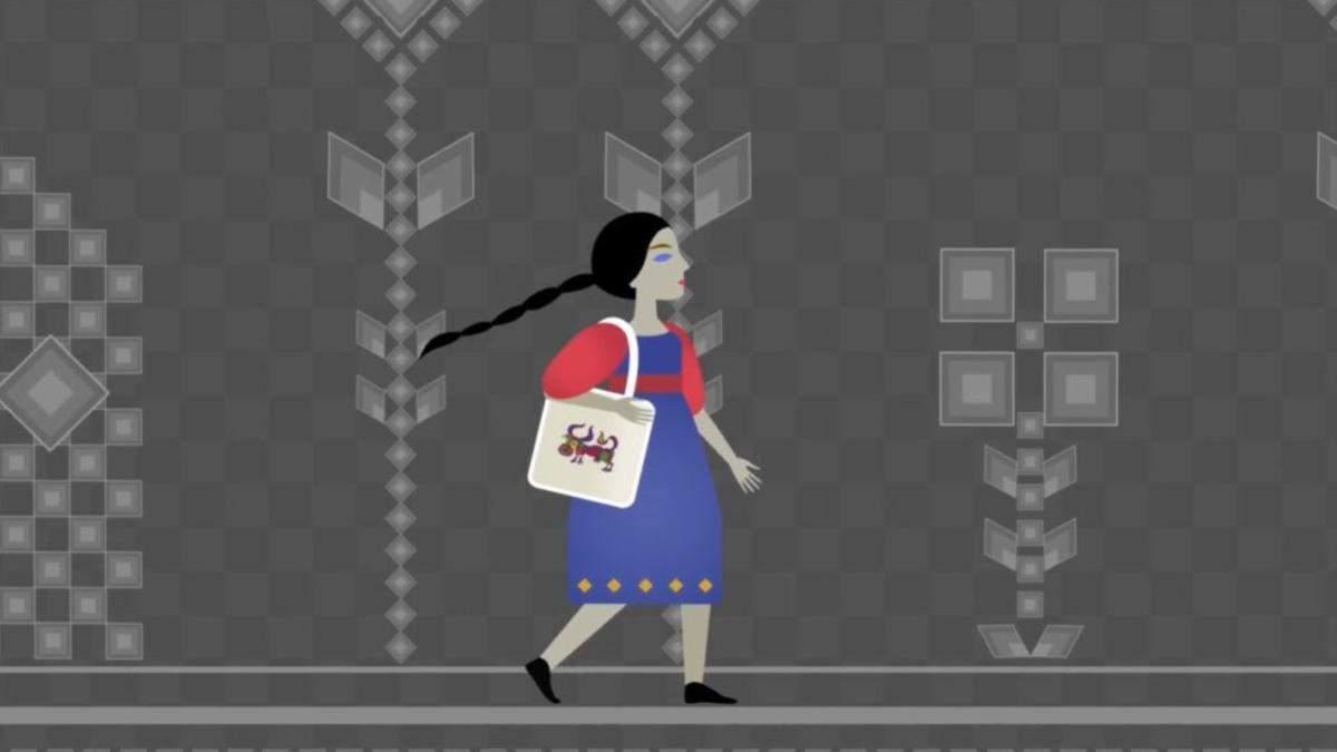 Українські аніматори створили арт-гру про мисткинь-шістдесятниць