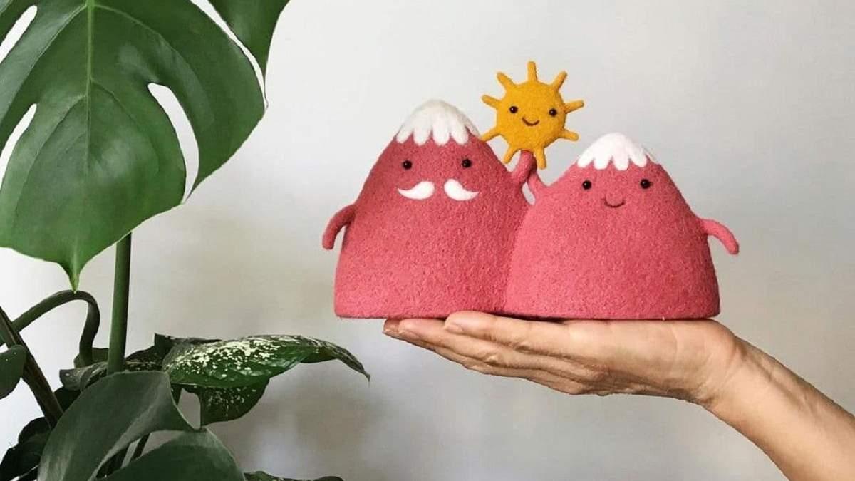 Украинки создают волшебные валяные игрушк: изделия, в которые вы влюбитесь - 15 фото