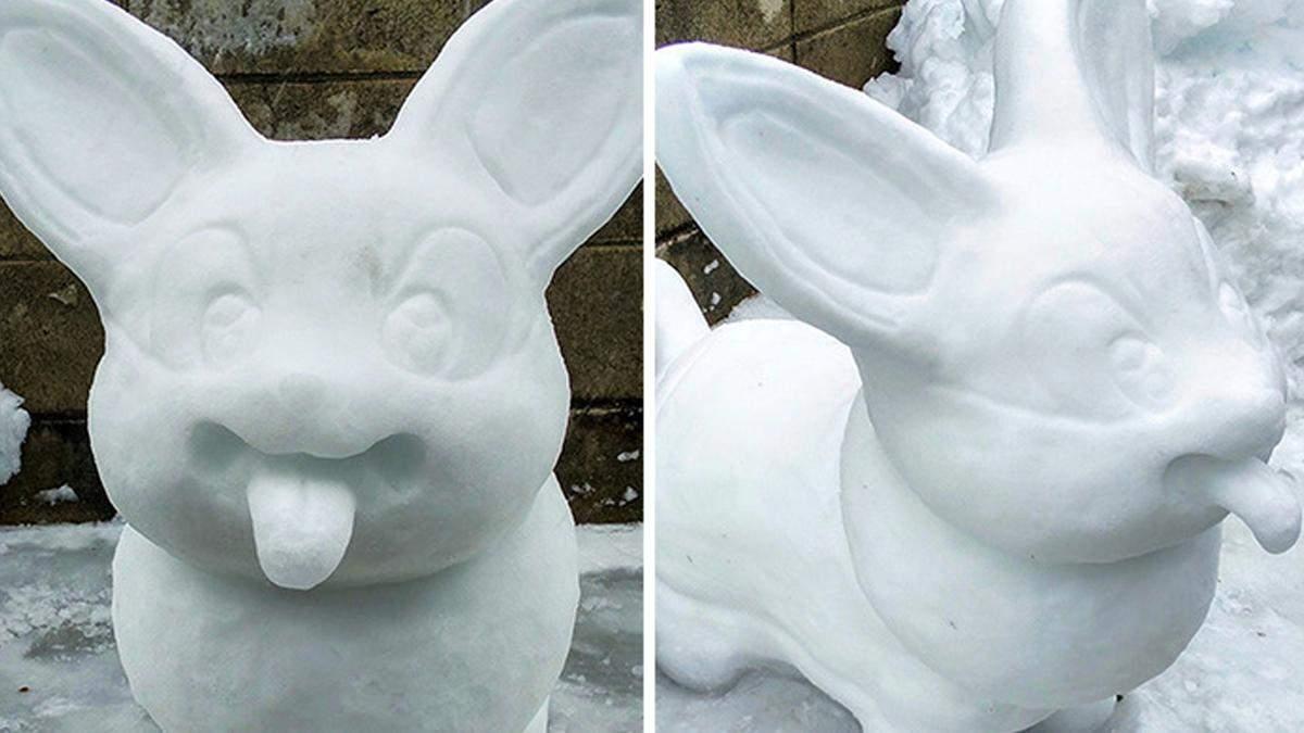 Реалістичні снігові скульптури з Японії, які повернуть нас у дитинство: милі фото
