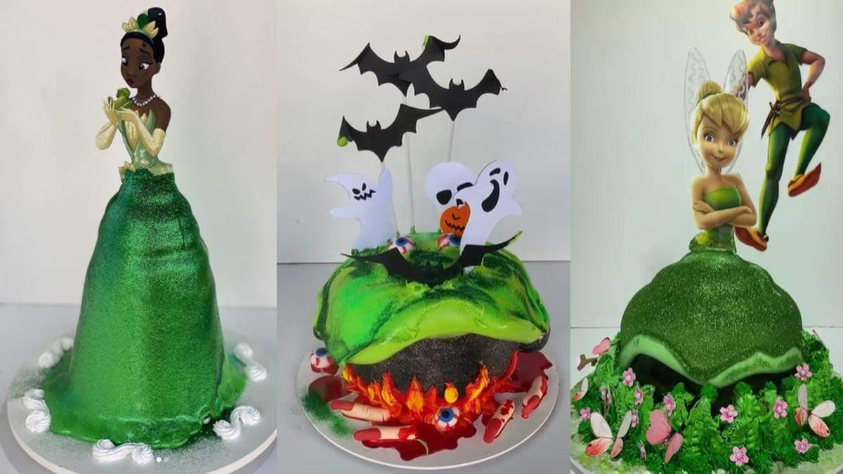 Як легко прикрасити святковий торт вдома: відео