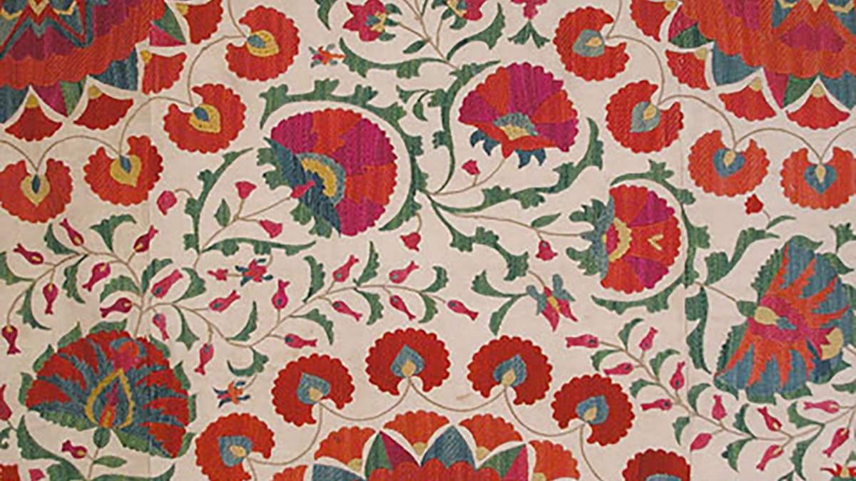 Вышивка сюзане: древнее рукоделие узбекских женщин