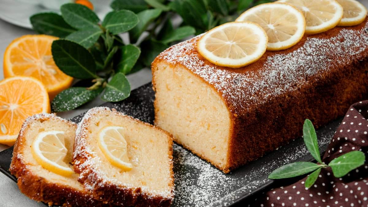 Ідеальний лимонний кекс з кукурудзяним борошном: рецепт від блогерки Тані Пренткович