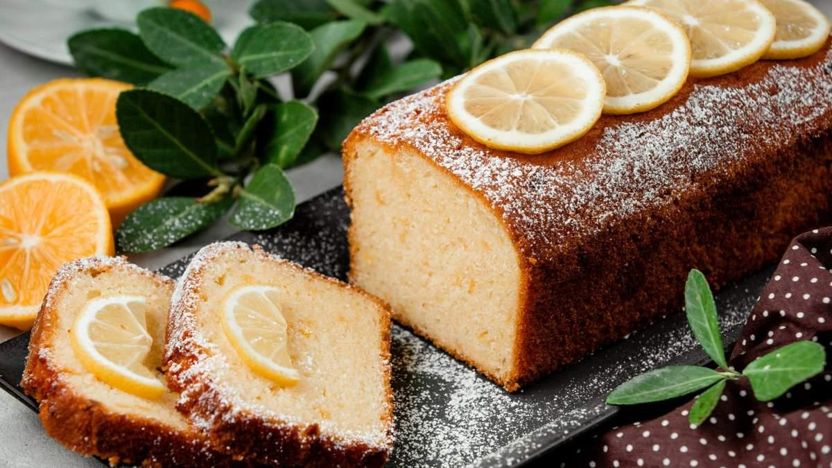 Лимонный кекс с кукурузной мукой: рецепт Тани Пренткович