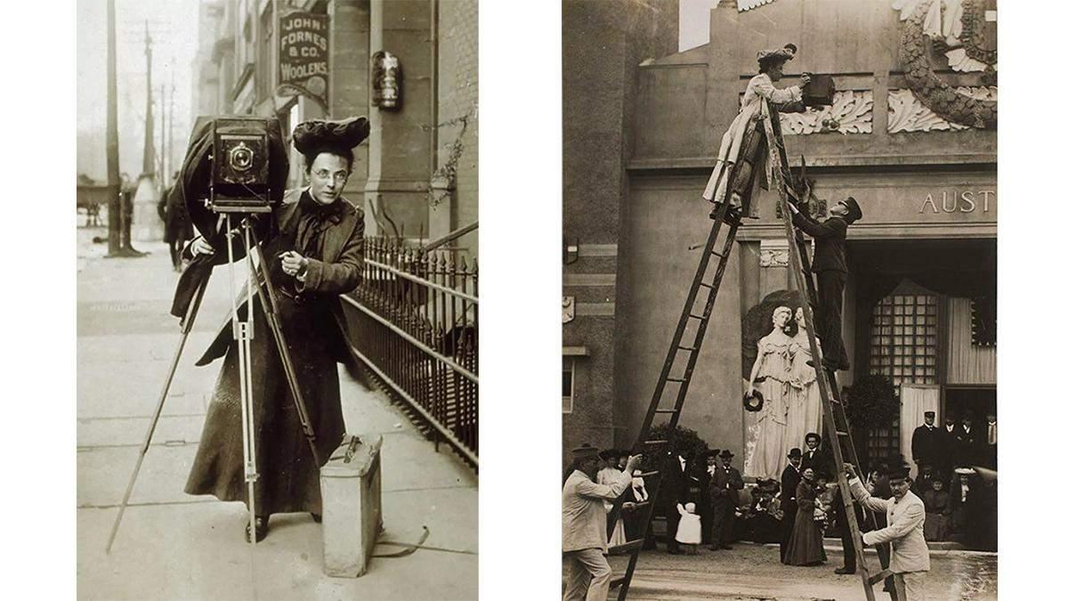Джессі Тарбокс Білз: перша жінка-фотокореспондентка