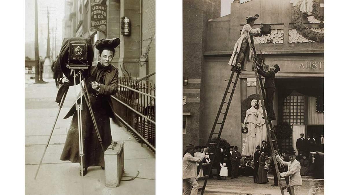 Джесси Тарбокс Билз: первая женщина-фотокорреспондентка