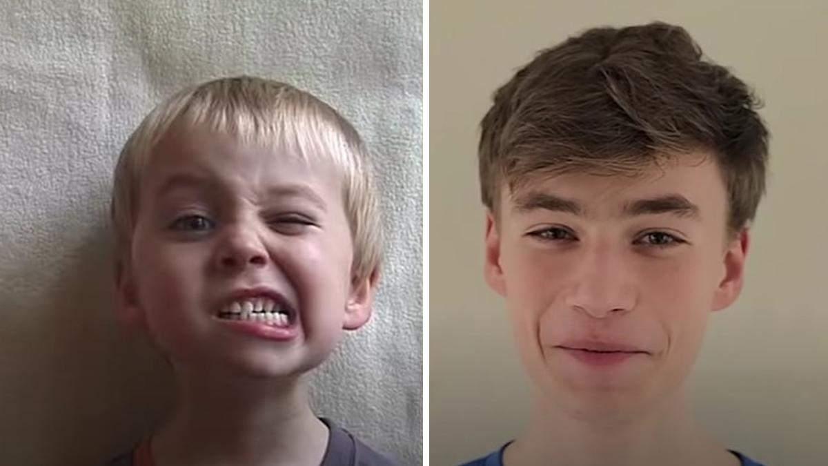 Отец на протяжении 18 лет снимал, как растет его сын: уникальное видео