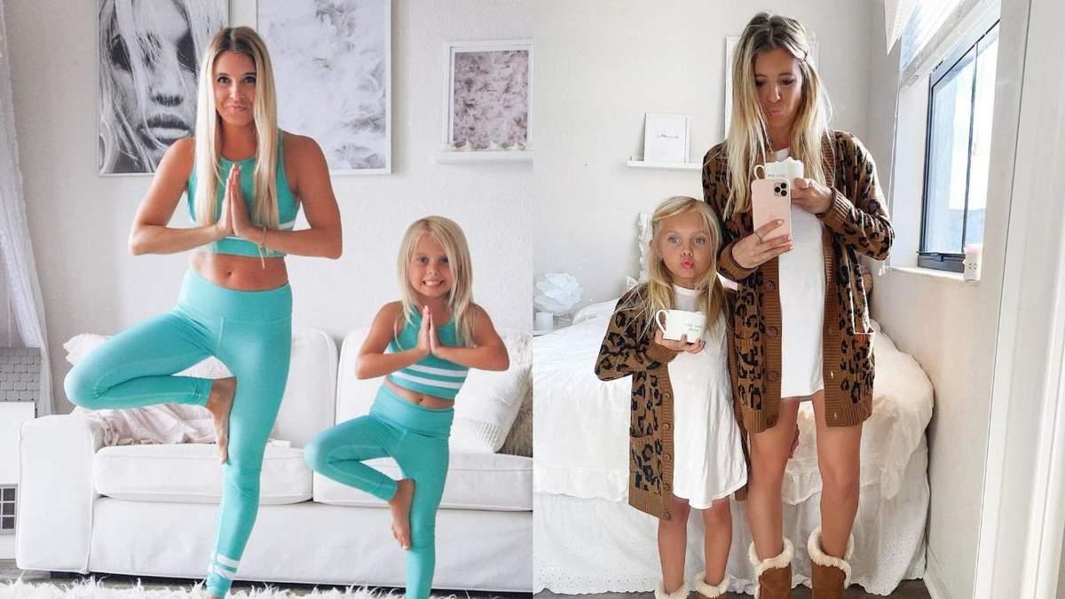 Мама с дочерью создают стильные family look: они стали настоящими звездами