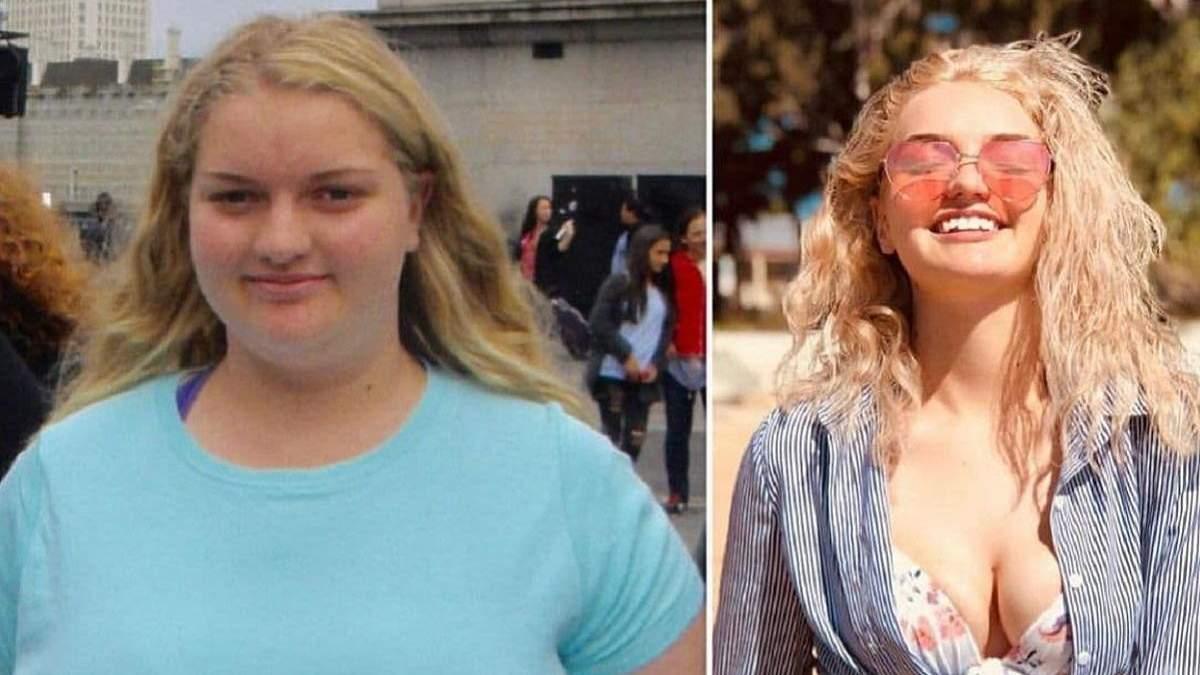 Дівчина скинула 62 кілограми