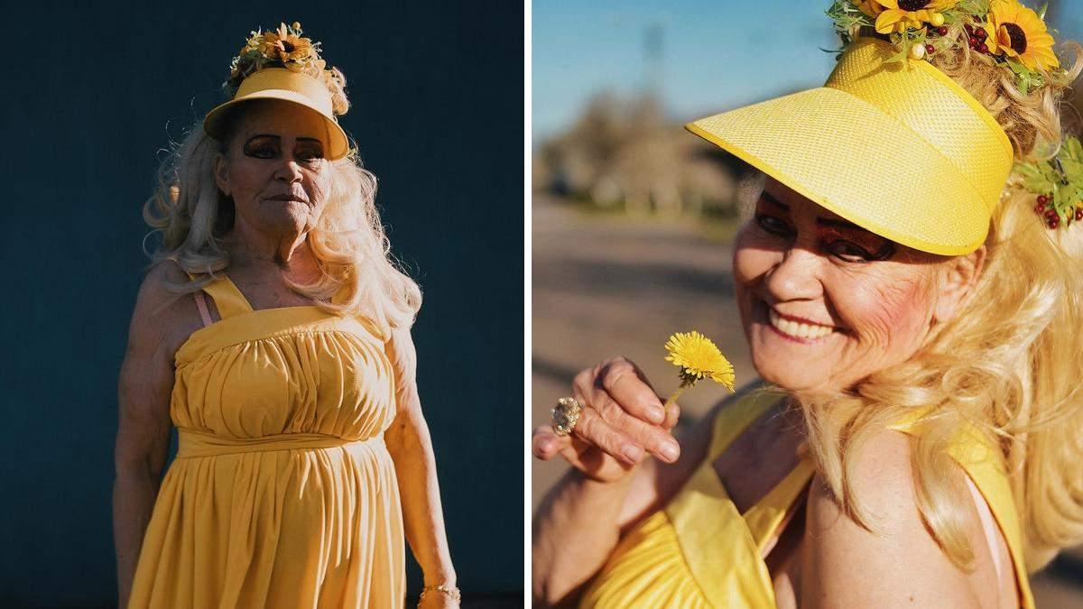 Всегда молодая: роскошный фотопроект о самой яркой бабушке Бердичева