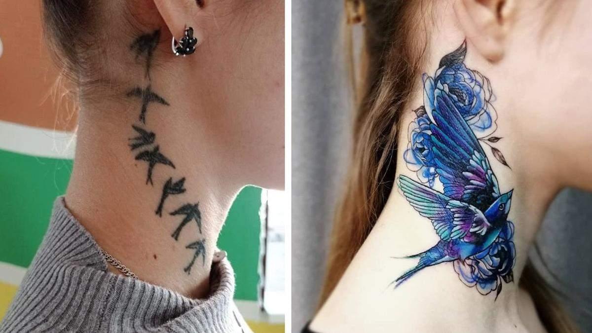 """До – после: 10+ крутых идей, как """"зарисовать"""" старые татуировки"""