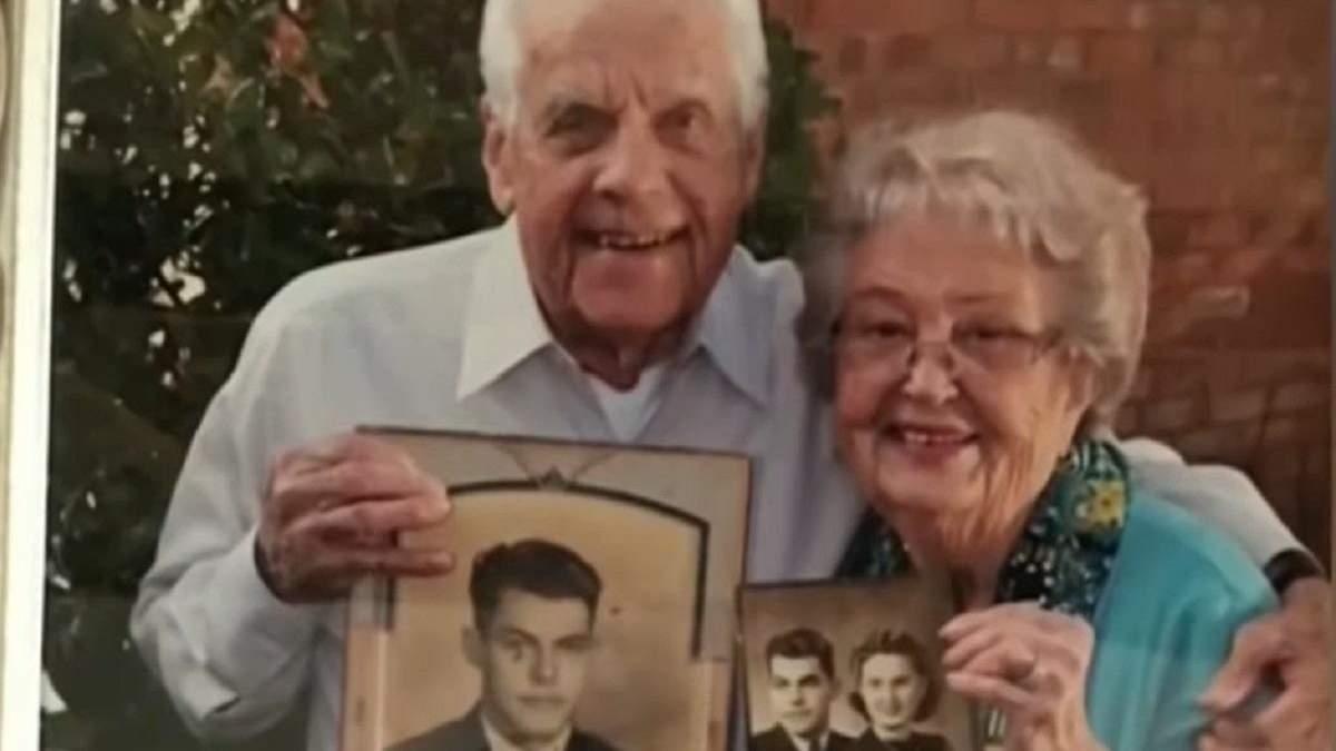 Пара отпраздновала 80-летие свадьбы