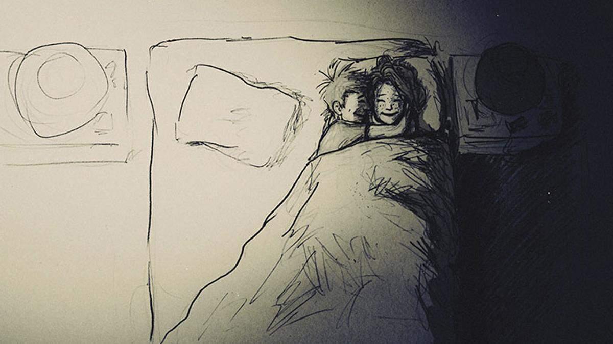 Чоловік проілюстрував рік свого життя із коханою у 365 малюнках: милий комікс