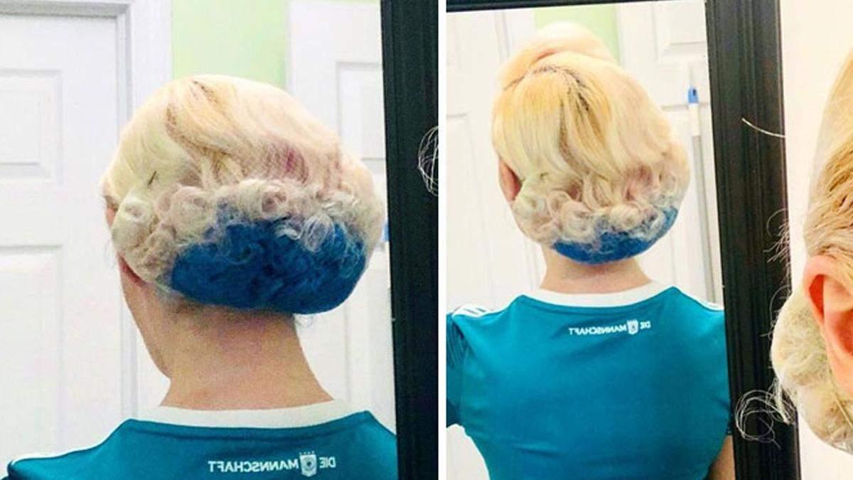 15 людей, которые хотели покрасить волосы, но пожалели: забавные фото