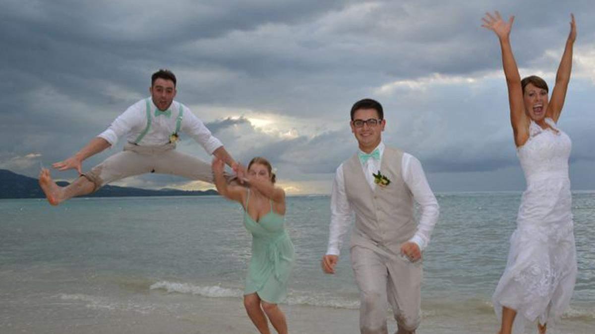 Что здесь случилось: 15 странных свадебных фото, которые рассмешат каждого