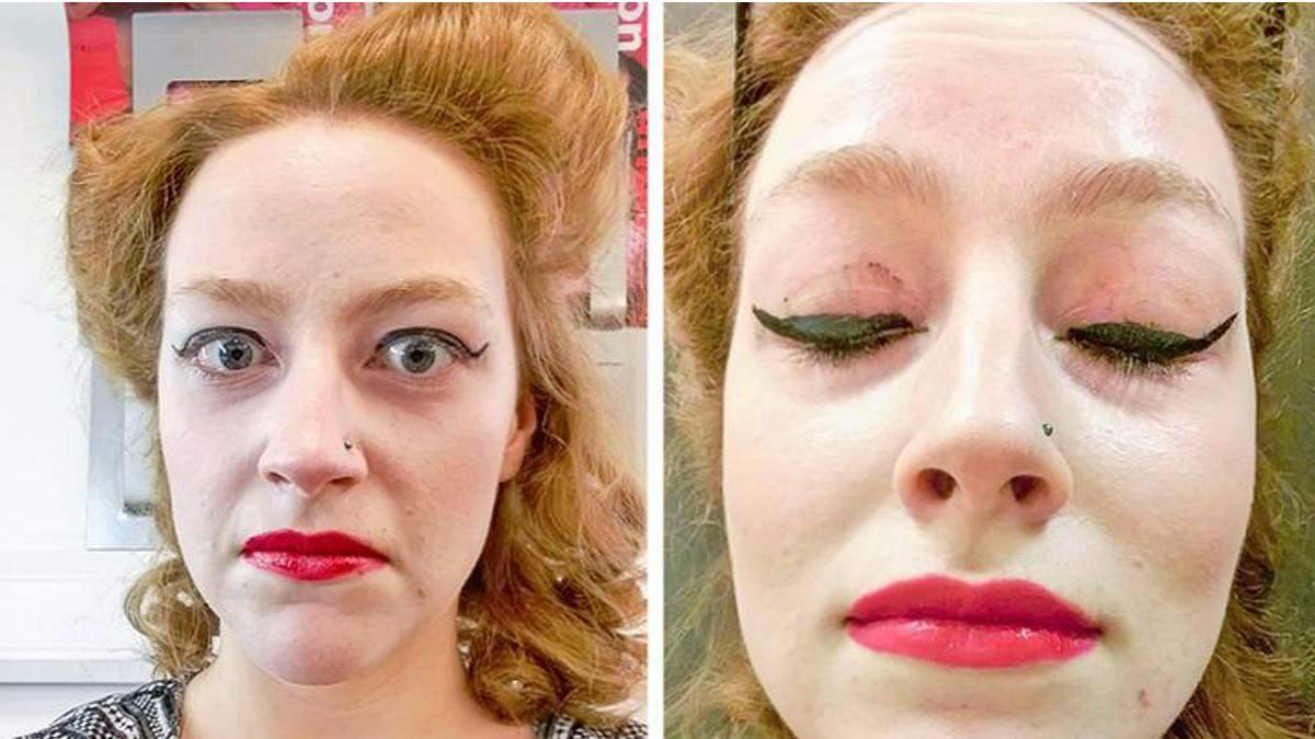 Бедные девушки: 10 примеров странного макияжа, который насмешил всех – фото