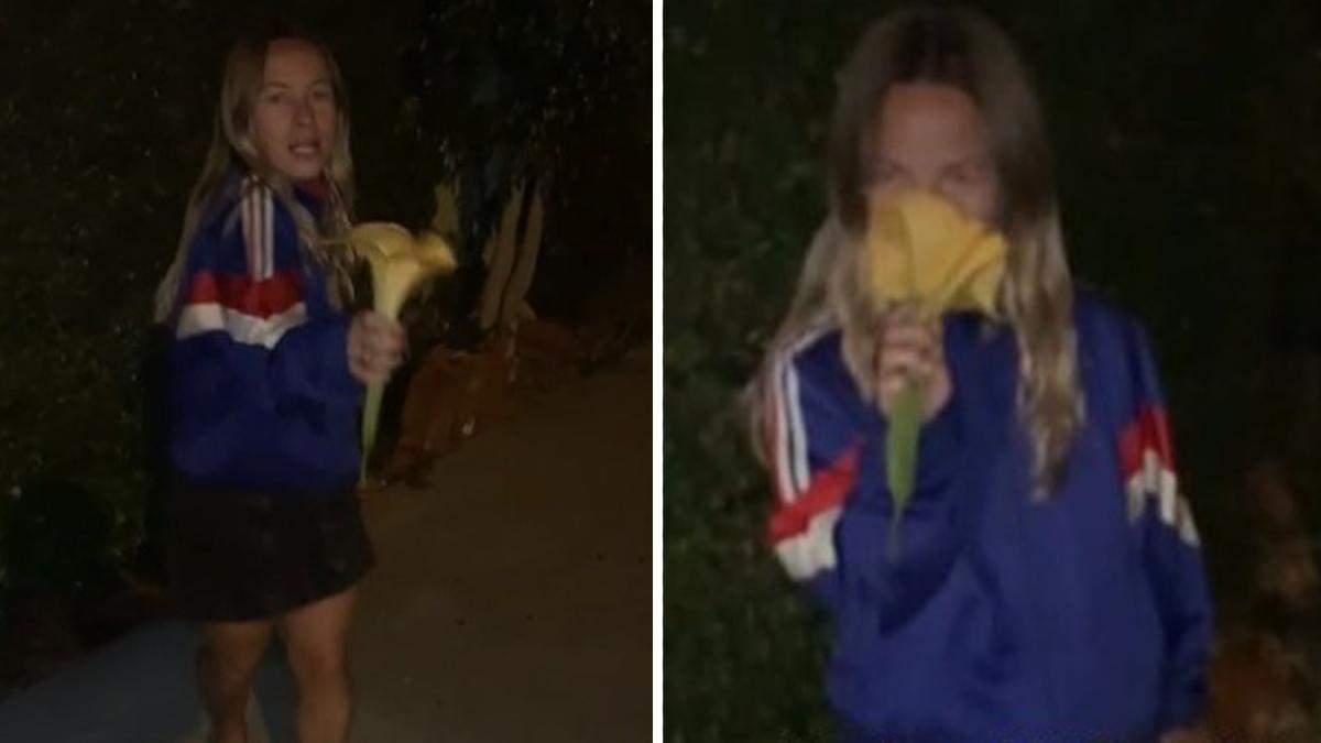 Девушки сорвали красивый цветок и пожалели: они едва проснулись утром