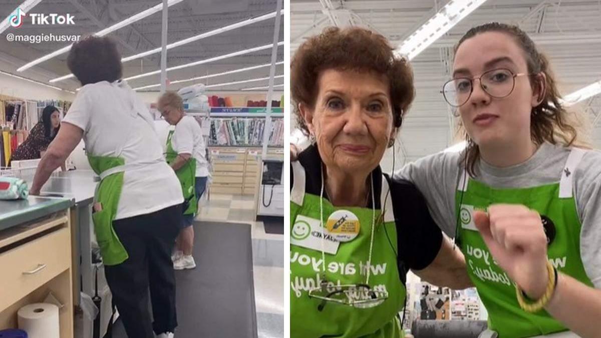 """Бабушка """"забыла"""" о своем возрасте и пошла на работу: ей уже 98 лет"""