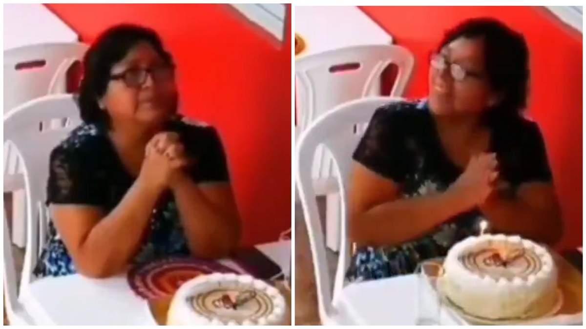 Женщина праздновала День рождения в одиночестве