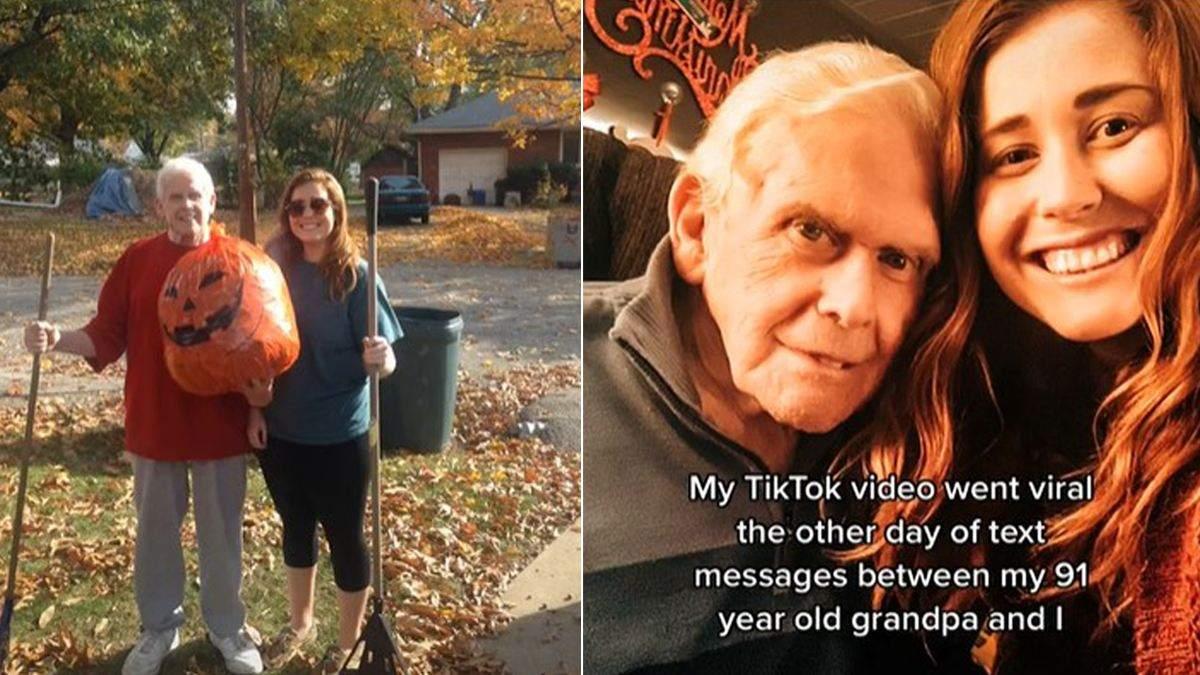 Умрешь одинокой: внучка получила забавное пожелания от дедушки