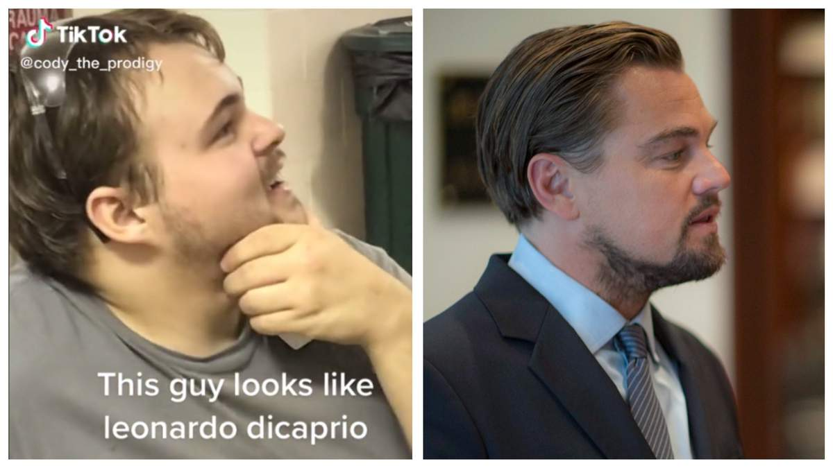 Двойник Ленардо Ди Каприо