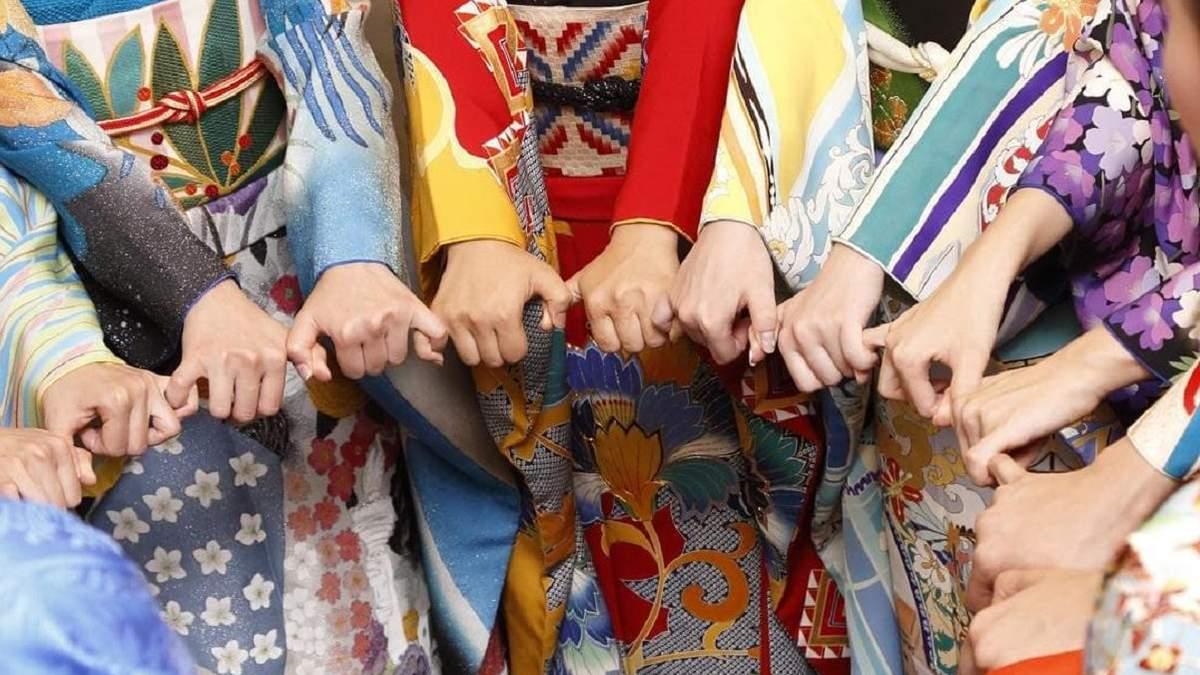 Японці створили кімоно для країн-учасниць Олімпіади