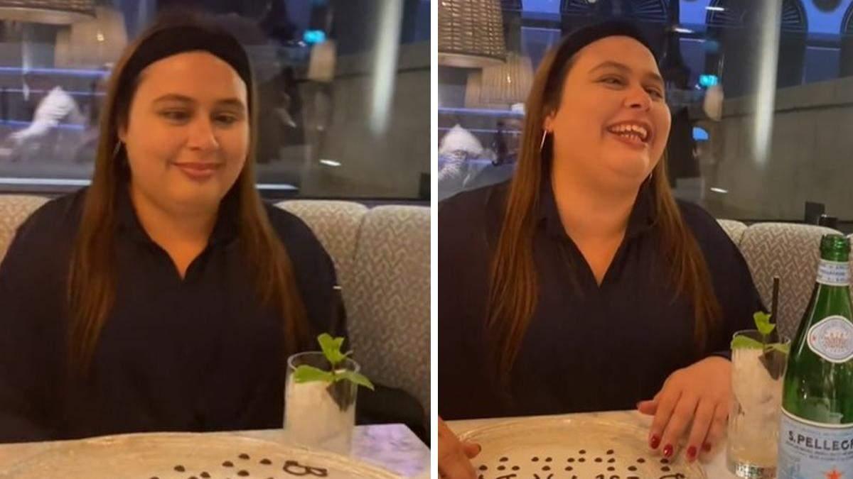 Персонал зробив несподіваний сюрприз незрячій жінці у ресторані: миле відео