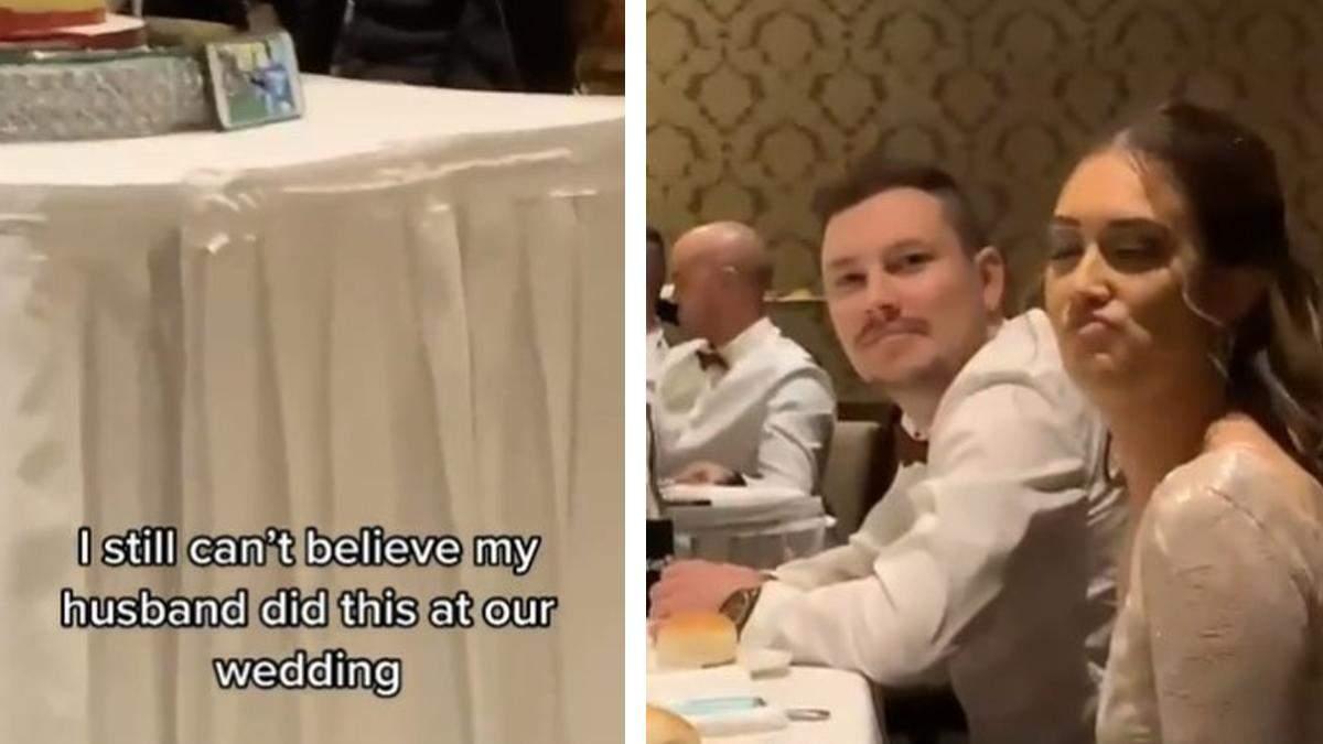 Не втримався: наречений дивився регбі на своєму весіллі - Life