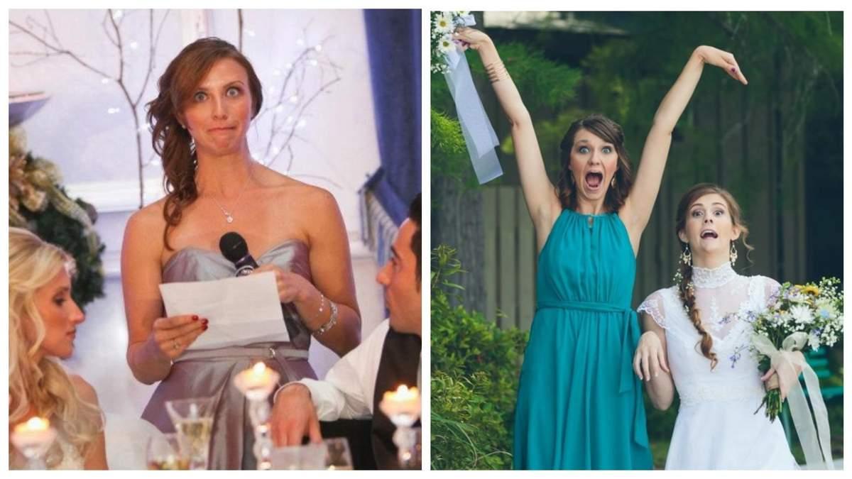 15 снимком, которые показывают, как трудно быть свидетелями на свадьбе: забавные фото - Life