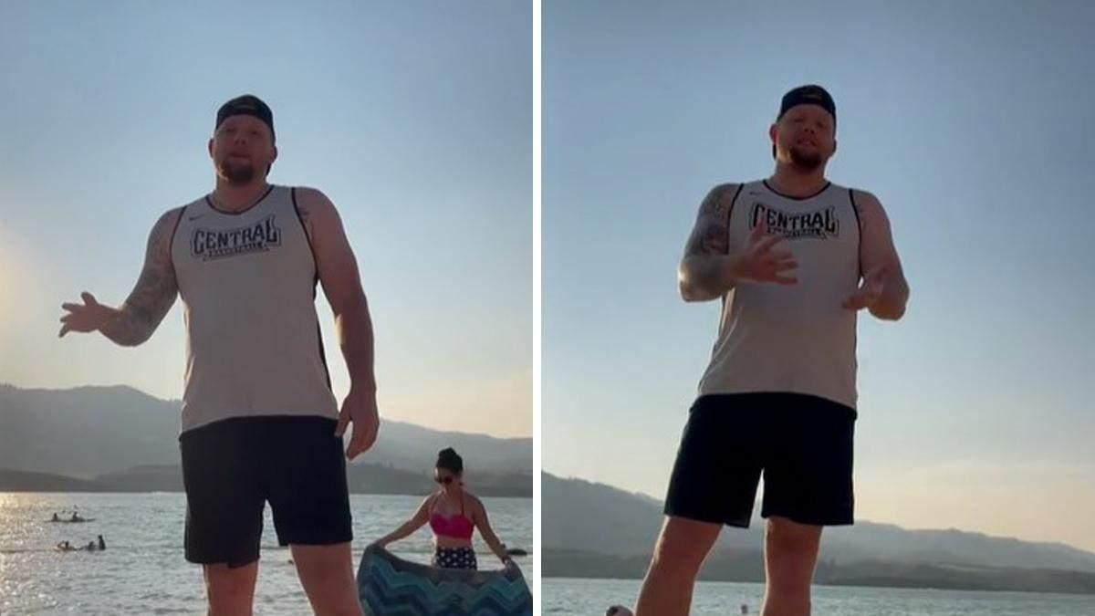 Чоловік здивував дівчат на пляжі кумедним проханням: вони давно так не сміялися