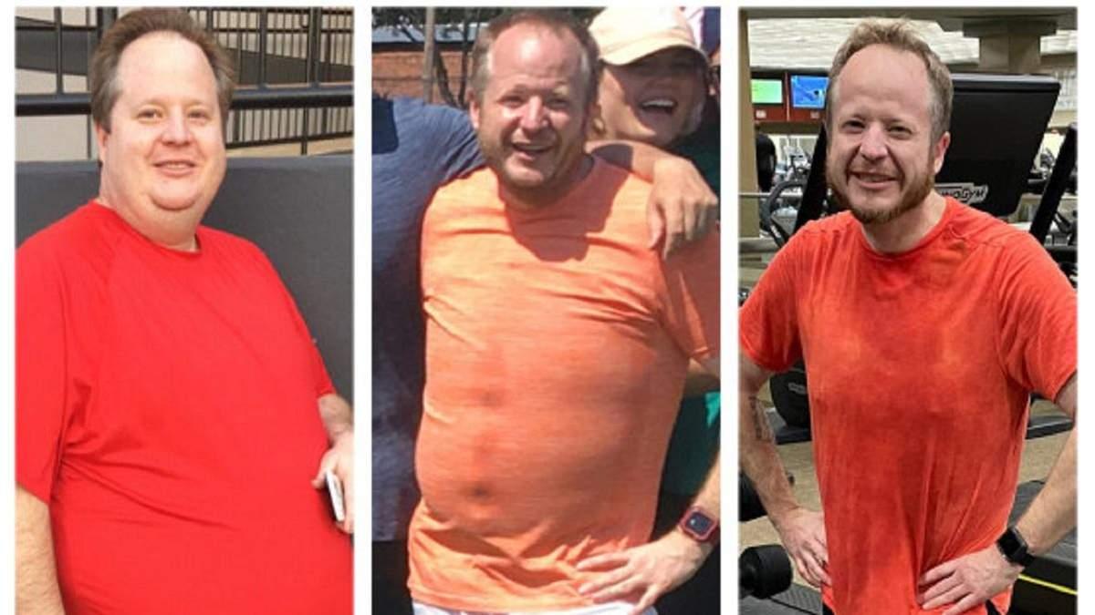 Чоловік скинув 84 кілограми: секрети схуднення