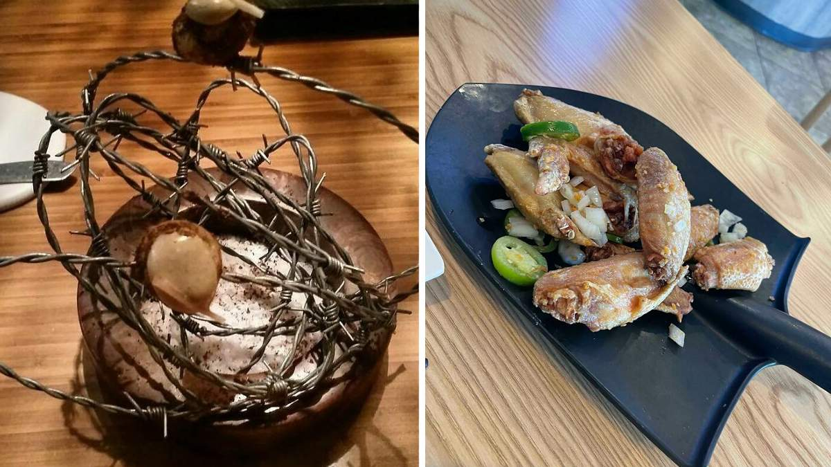 Невдалі подачі страв в ресторанах, які насмішили людей: 10+ кумедних фото