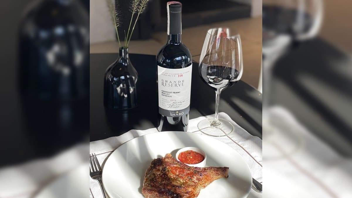Ужин с вином: SHABO Grande Reserve Cabernet Franc – Merlot – Saperavi и телятина на кости - Life