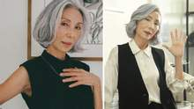 Жінка стала моделлю після виходу на пенсію: як їй це вдалося
