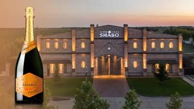 Візитна картка: ігристе вино SHABO напівсолодке біле