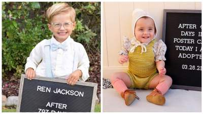 Наконец нашли семью: 10+ трогательных фото детей, которых только что усыновили