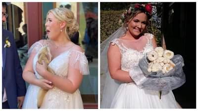 Букет из пончиков для невесты: 10+ молодоженов, которые сломали свадебные стереотипы