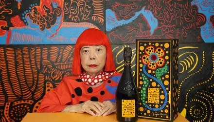 Відома художниця створила унікальну етикетку для Veuve Clicquot: фотофакт