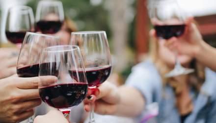 Корисне для здоров'я: 7 фактів про червоне вино