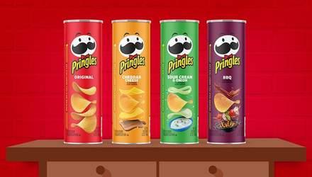 Мистер Пи изменил лицо: новый дизайн чипсов Pringles – фотофакт