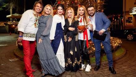 Як українські зірки Різдво святкували: приготування куті та конкурс на краще національне вбрання
